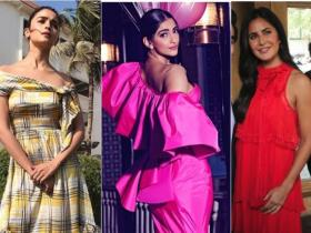 Celebrity Style,sonam kapoor,katrina kaif,alia bhatt,tiered maxi dress,summers