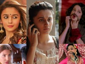 Discussion,Kangana Ranaut,alia bhatt,Swara Bhaskar,Taapsee Pannu,Anushka Sharma,Top actress Bollywood,1st quarter 2017