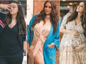Celebrity Style,neha dhupia,fashion,style,Maternity style,delivery,baby,pregnant,mehr dhupia bedi