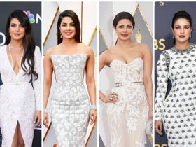 Celebrity Style,Priyanka Chopra,dress,Oscars,Nick Jonas,billboard