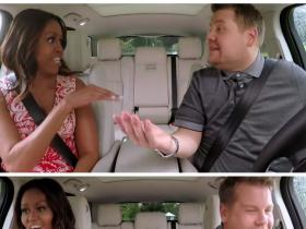 News,Michelle Obama,James Corden