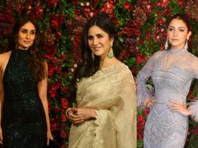 Celebrity Style,anushka sharma,katrina kaif,kareena kapoor khan,Janhvi Kapoor,Best and Worst Dressed,deepveer reception
