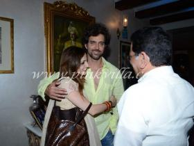 Photos,Hrithik Roshan,Suzanne Roshan,Zarine Khan iftar party