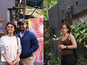 Photos,aamir khan,kiran rao,Ira Khan