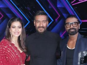 Ajay Devgn,Kajol,photos,dance plus 5