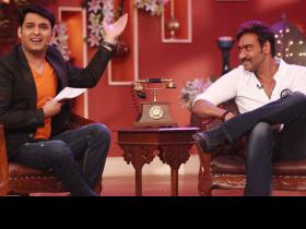news & gossip,Kapil Sharma,Ajay Devgn,Family Time with Kapil Sharma
