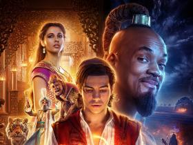 Will Smith,Box Office,aladdin,Mena Massoud