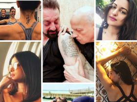 People,Deepika Padukone,World Tattoo Day