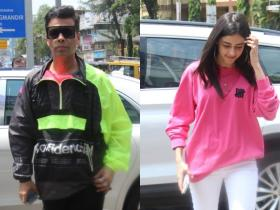 News,Karan Johar,Ananya Panday