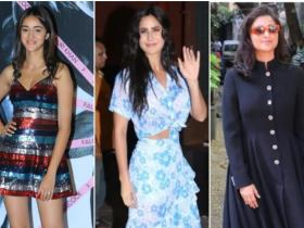 katrina kaif,parineeti chopra,Best Dressed,Ananya Panday