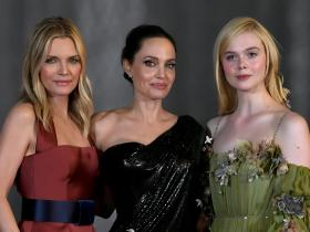 angelina jolie,Elle Fanning,Hollywood,Michelle Pfeiffer,Maleficent: Mistress of Evil