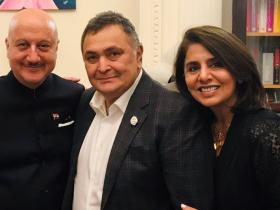 News,anupam kher,bollywood,bollywood news,Rishi Kapoor and Neetu Kapoor