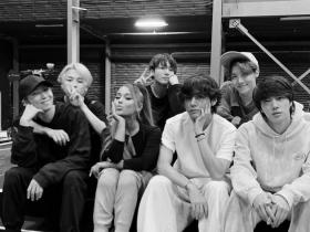 Ariana Grande,BTS,Hollywood