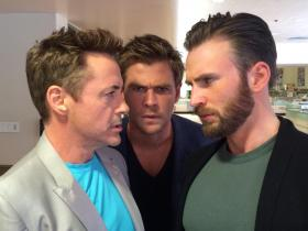 Chris Evans,Robert Downey Jr,Chris Hemsworth,Avengers: Endgame,Hollywood