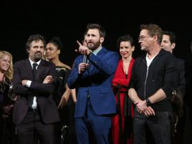 Chris Evans,Robert Downey Jr,Mark Ruffalo,Avengers: Endgame,Hollywood