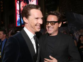 Benedict Cumberbatch,Robert Downey Jr,Avengers: Endgame,Hollywood