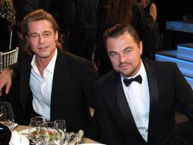 Leonardo DiCaprio,Brad Pitt,Once Upon A Time In Hollywood,Hollywood,SAG Awards 2020