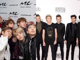 One Direction,BTS,Hollywood