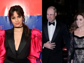 Camila Cabello,Kate Middleton and Prince William,Hollywood