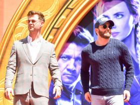 Chris Evans,Chris Hemsworth,Avengers: Endgame,Hollywood