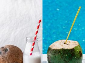Health & Fitness,coconut water,Coconut Cream vs Coconut Milk