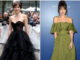 Celebrity Style,Dior,TIFF,Dakota Johnson,ball gown