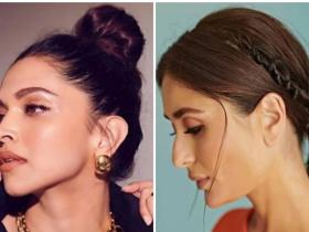 Celebrity Style,deepika padukone,hairstyle,easy