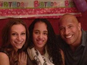 Dwayne Johnson,The Rock,simone alexandra johnson,Hollywood