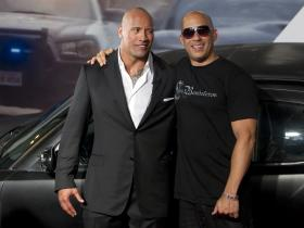 Dwayne Johnson,Vin Diesel,The Rock,Hobbs & Shaw,Hollywood,Fast & Furious 9