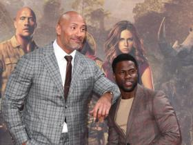 Dwayne Johnson,Kevin Hart,Hollywood