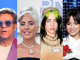 lady gaga,Camila Cabello,Elton John,Hollywood,billie Eilish,COVID 19