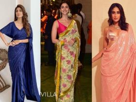 Celebrity Style,saree,styling tip,blouse