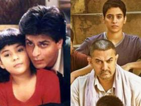 Discussion,aamir khan,shah rukh khan,Happy Father's Day,Father's Day