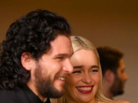 Game of Thrones,kit harington,emilia clarke,Hollywood