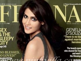 Magazine Covers,genelia d'souza