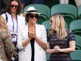 Celebrity Style,kate middleton,Meghan Markle,wimbledon