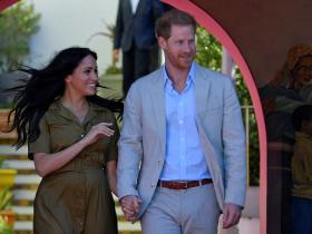 Meghan Markle and Prince Harry,Hollywood,Thanksgiving 2019