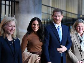 Meghan Markle and Prince Harry,Hollywood,Oscars 2020