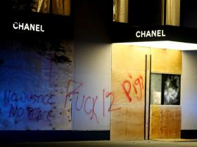 Chanel,Beauty,george floyd,protest