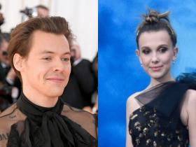 Harry Styles,Ariana Grande,Hollywood,Millie Bobby Brown