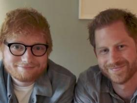 Ed Sheeran,Prince Harry,World Mental Health Day,Hollywood