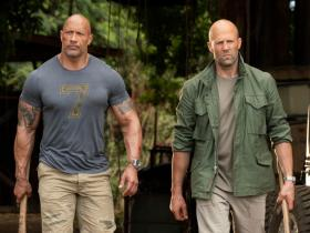 Dwayne Johnson,Box Office,The Rock,Jason Statham,Hobbs & Shaw