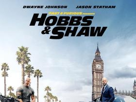 Dwayne Johnson,Reviews,The Rock,Helen Mirren,Jason Statham,Vanessa Kirby,idris elba,Hobbs & Shaw