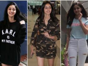 Celebrity Style,style tips,Ananya Panday,White Sneakers