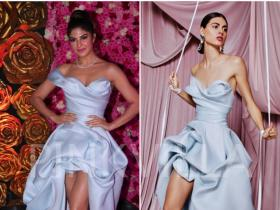 Celebrity Style,Jacqueline Fernandez,Chandini Whabi,Lux Golden Rose Awards,Maison Yeya