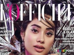 Magazine Covers,janhvi kapoor