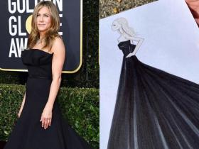 Celebrity Style,Dior,Jennifer Aniston,golden globes awards 2020 red carpet best dressed