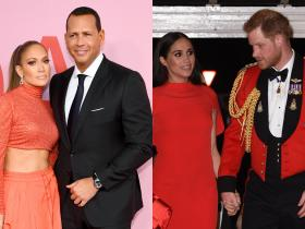 Jennifer Lopez,Meghan Markle,Prince Harry,Alex Rodriguez,Hollywood