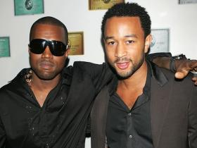 John Legend,kanye west,Hollywood