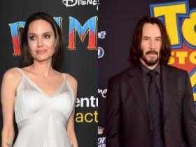 angelina jolie,keanu reeves,Hollywood